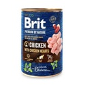 Brit Premium by Nature csirke és csirkeszív 800 g