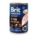 Brit Premium by Nature hal és halbőr 800 g