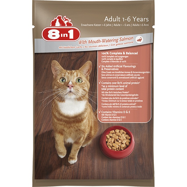 8in1 Cat Adult lazaccal