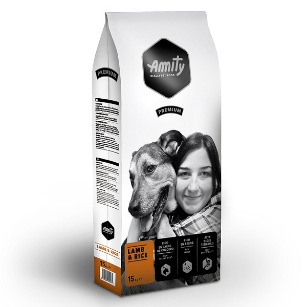 Amity Premium Dog Lamb & Rice 15 kg