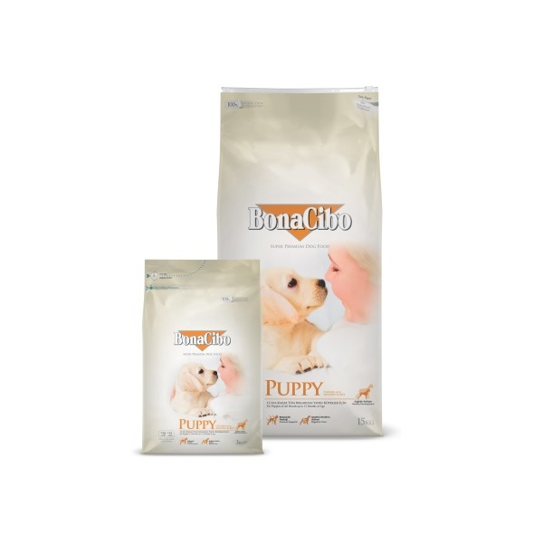 BonaCibo Puppy Chicken & Rice with Anchovy 3 kg