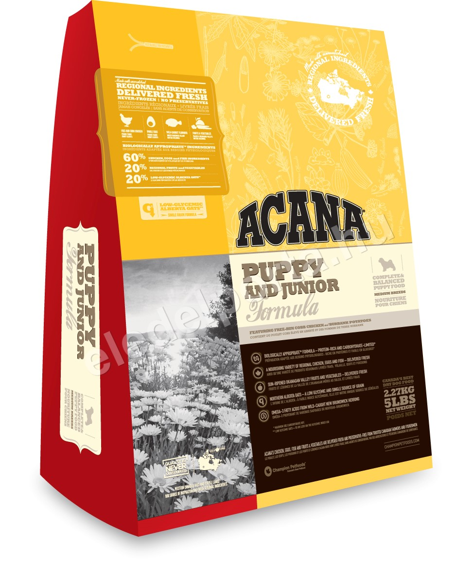 Acana Puppy & Junior 6 kg