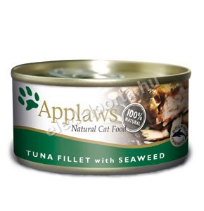 Applaws Cat tonhalfilé tengeri algával 70 g