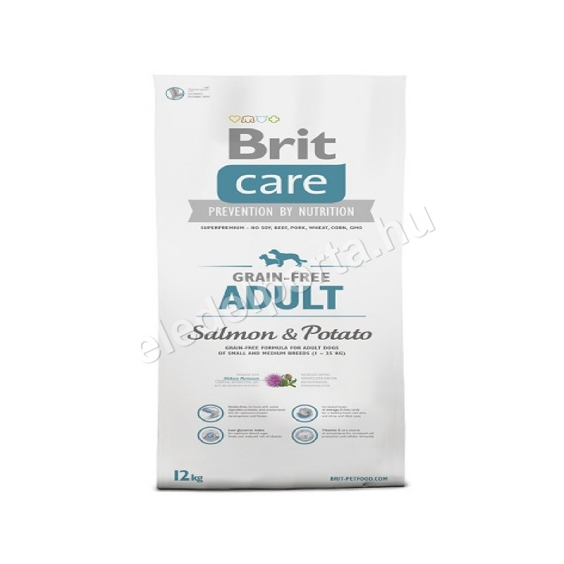 Brit Care Grain-Free Adult Salmon & Potato 3 kg
